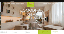 Preview of hotelprealpi.it