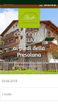 Mobile Preview of hotelprealpi.it